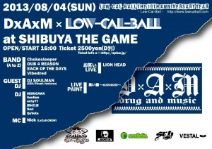 Low-Cal-Ball The 10th Anniversary Year ~DxAxM x Low-Cal-Ball~