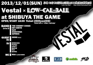 """Low-Cal-Ball The 10th Anniversary Year ~VESTAL  x Low-Cal-Ball~"